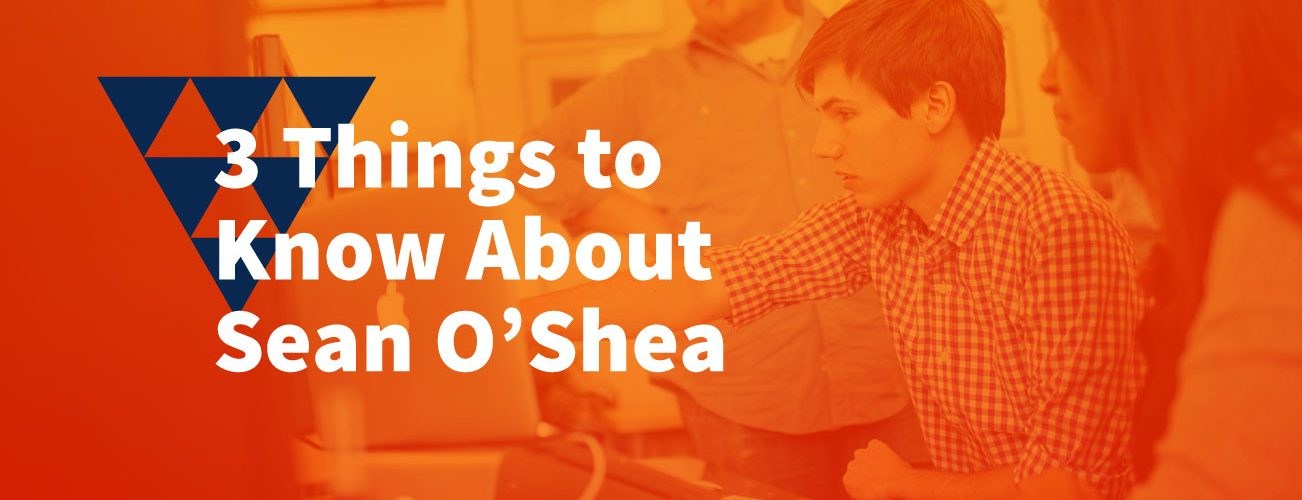 Image: 3 things to know about Sean O'Shea