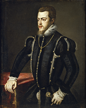Philip the II by Titian