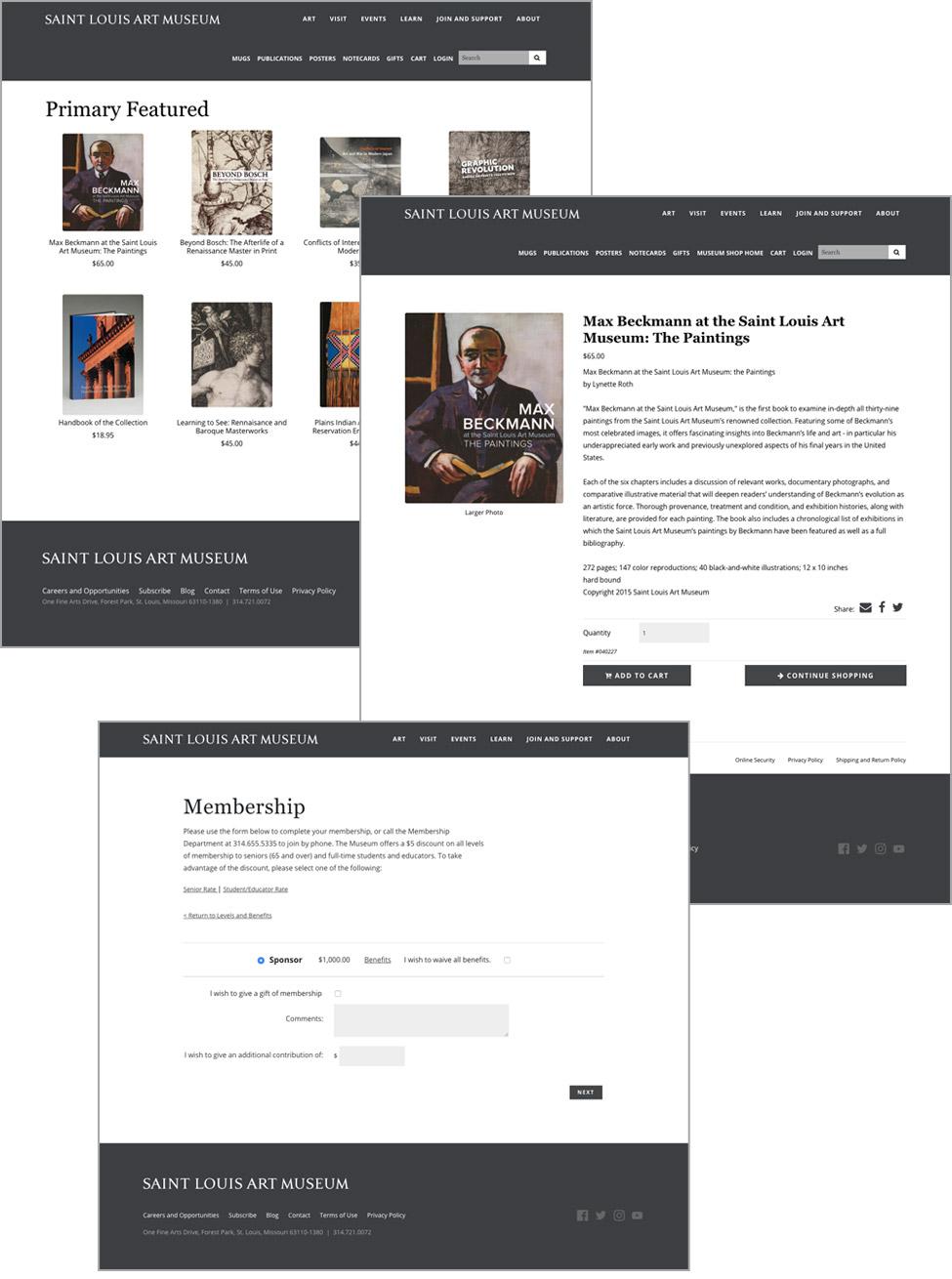 Slam Cuberis Museum Website Design And Development